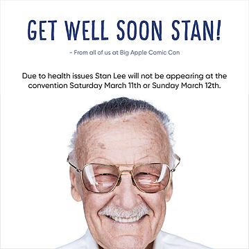 Big Apple Con 2017, Stan Lee