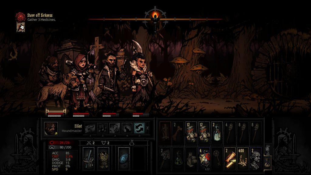 Darkest Dungeon Exploring