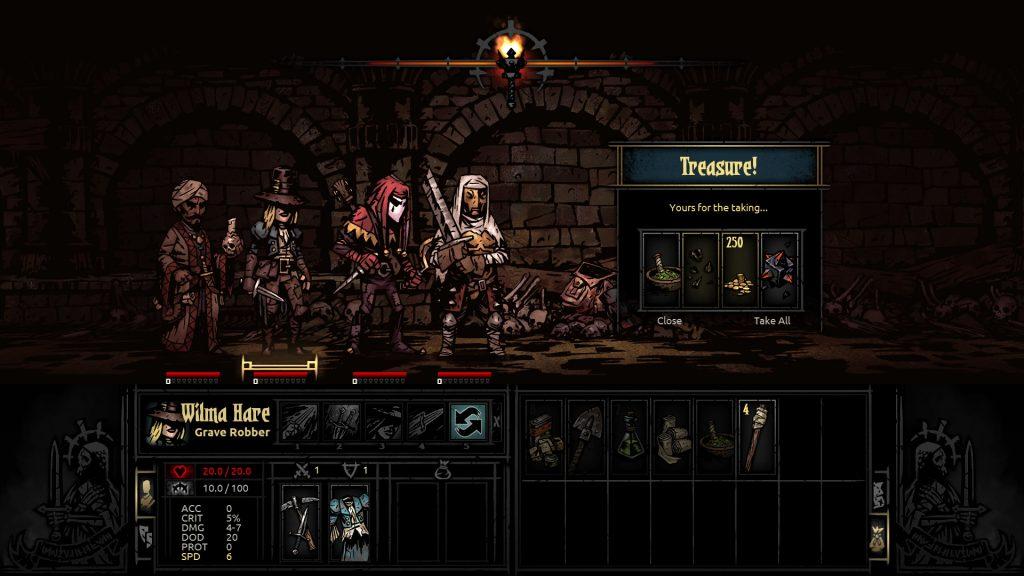Darkest Dungeon Treasure