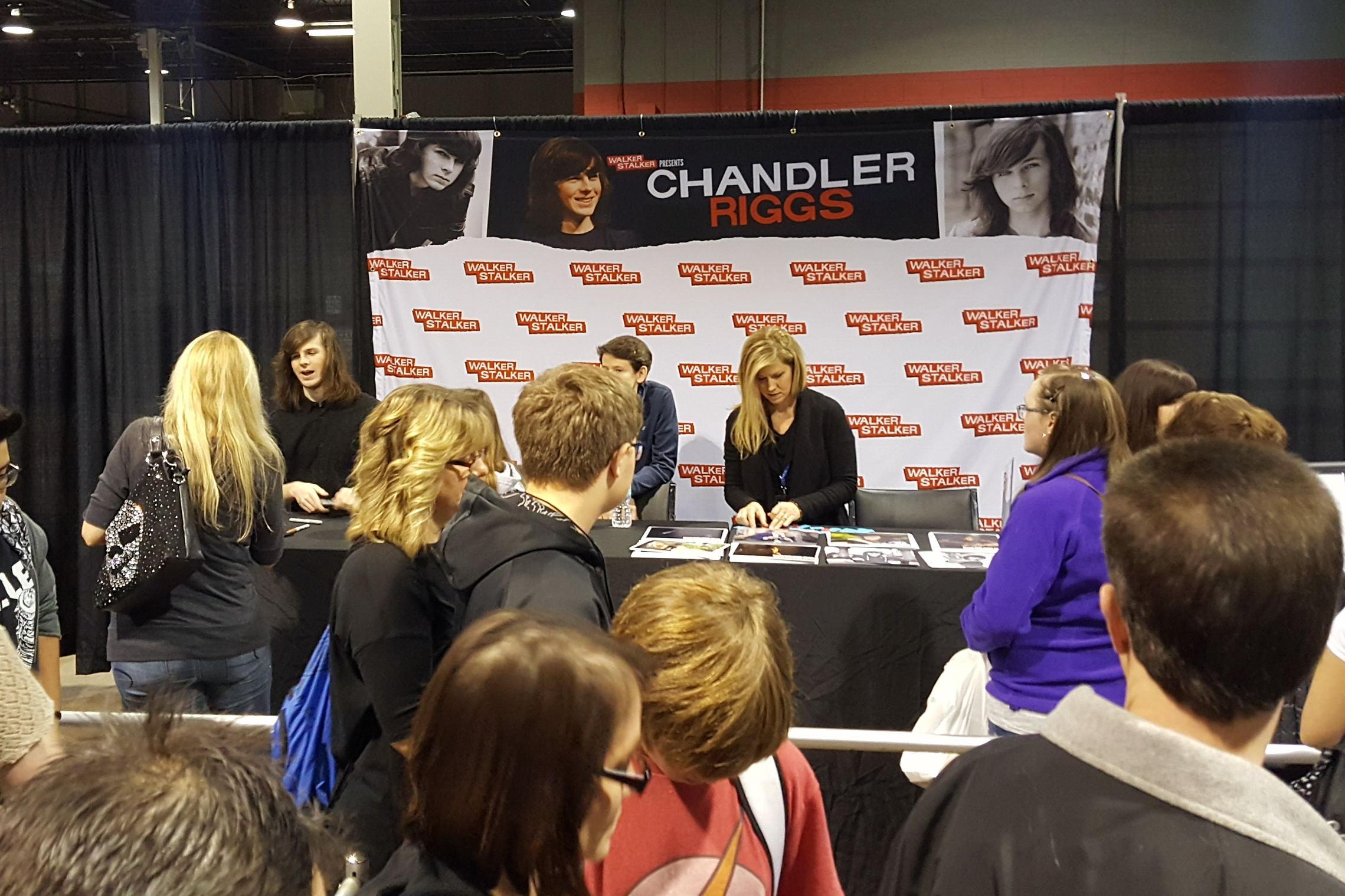 Fan Fest Chicago 2017, Chandler Riggs, Carl Grimes, The Walking Dead