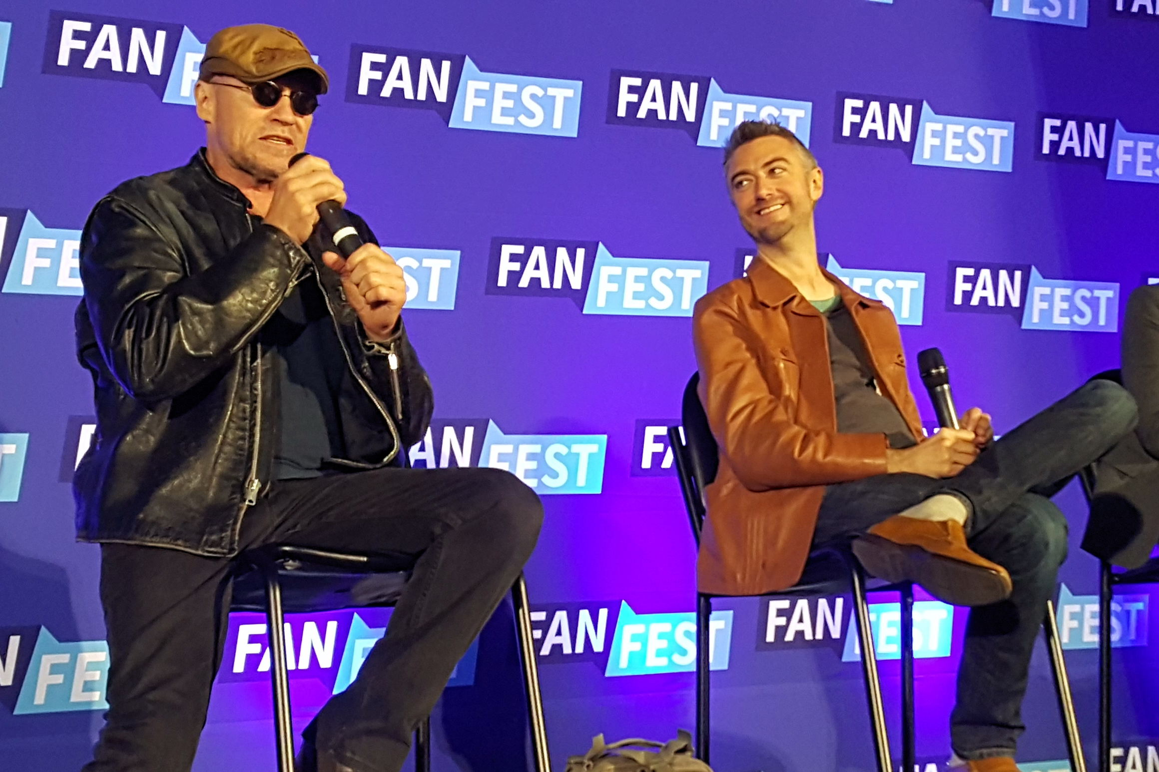 Fan Fest Chicago 2017, Michael Rooker, Sean Gunn, The Walking Dead