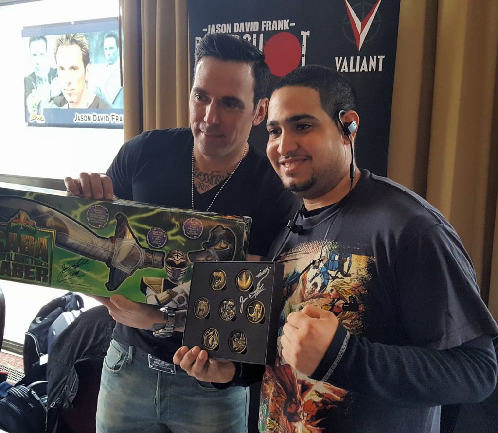 Big Apple Con 2017, Jason David Frank