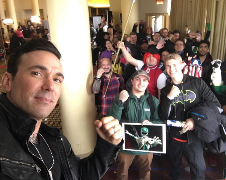 Bg Apple Con 2017, Jason David Frank