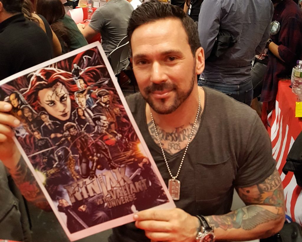 New York Comic Con 2017, Jason David Frank