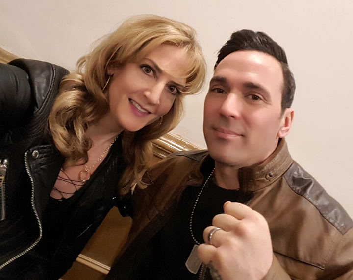 Big Apple Con 2017, Jason david Frank, Linda Marie