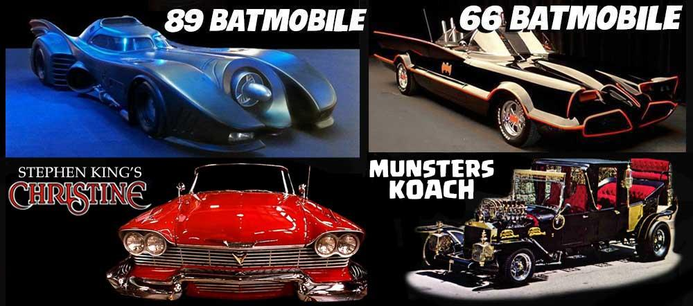 East Coast Comicon, Batman, Batmobile, Munsters, Stephen King, Christine