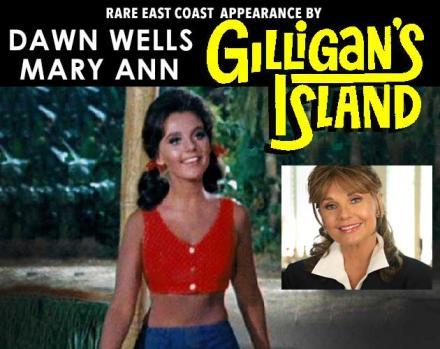 East Coast Comicon, Dawn wells, Mary Ann, Gilligan's Island