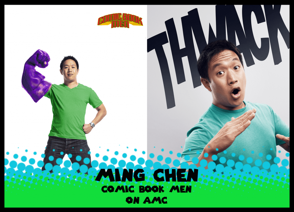 Hudson Valley Comic Con, Ming Chen Comic Book Men