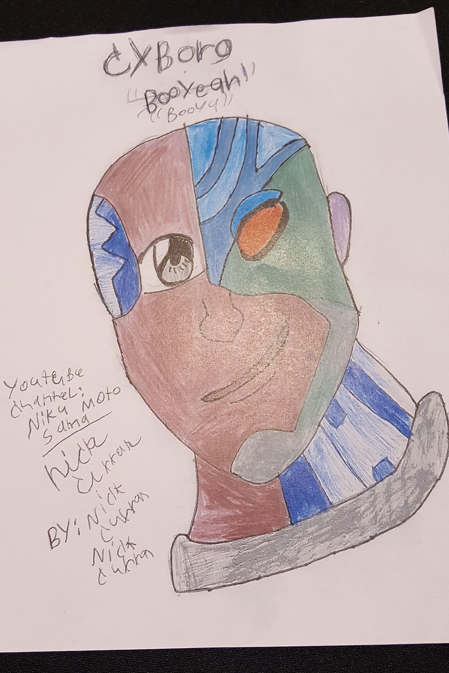 Khary Payton, Cyborg,Teen Titans, Fan Art