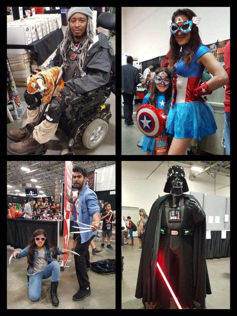 East Coast Comic Con, Cosplay
