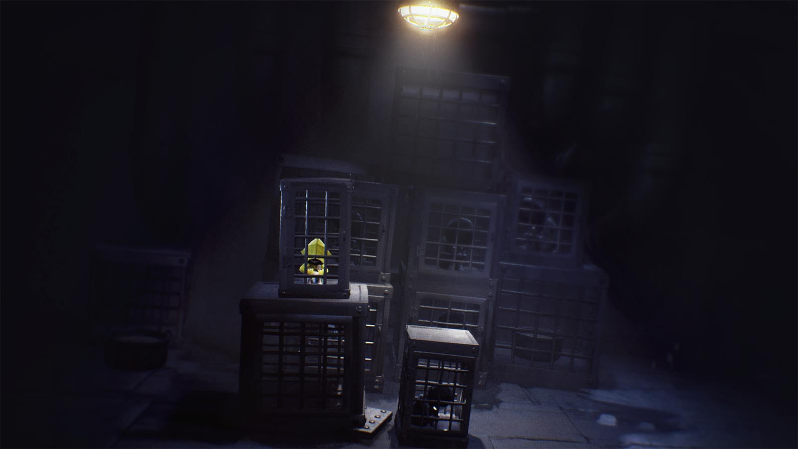 Little Nightmares in prison cage