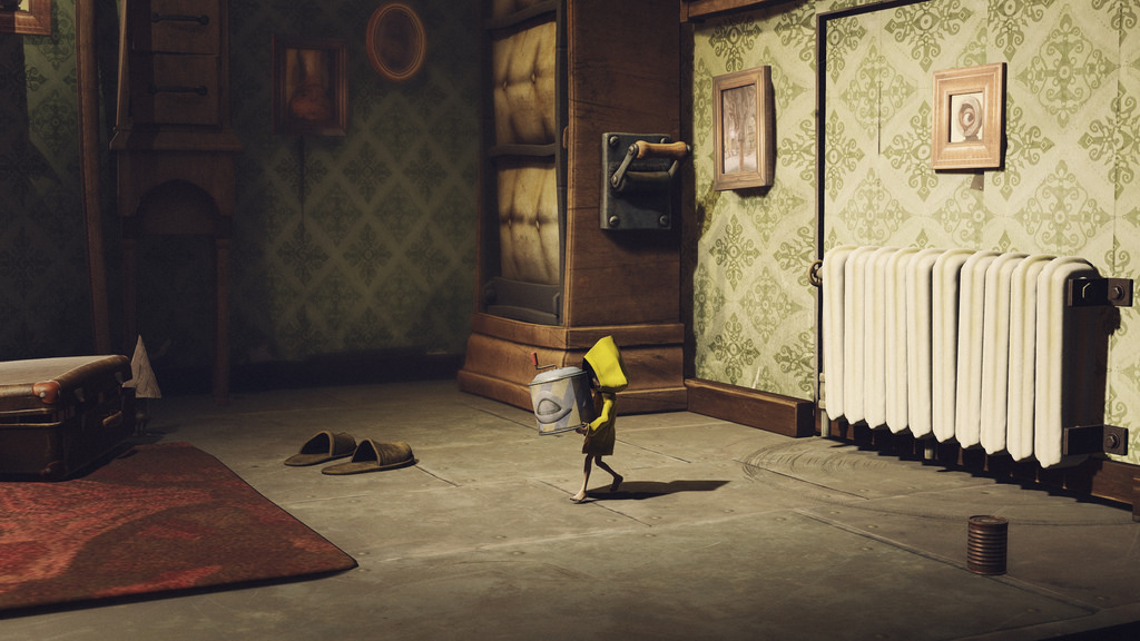 Little Nightmares carrying object in bedroom