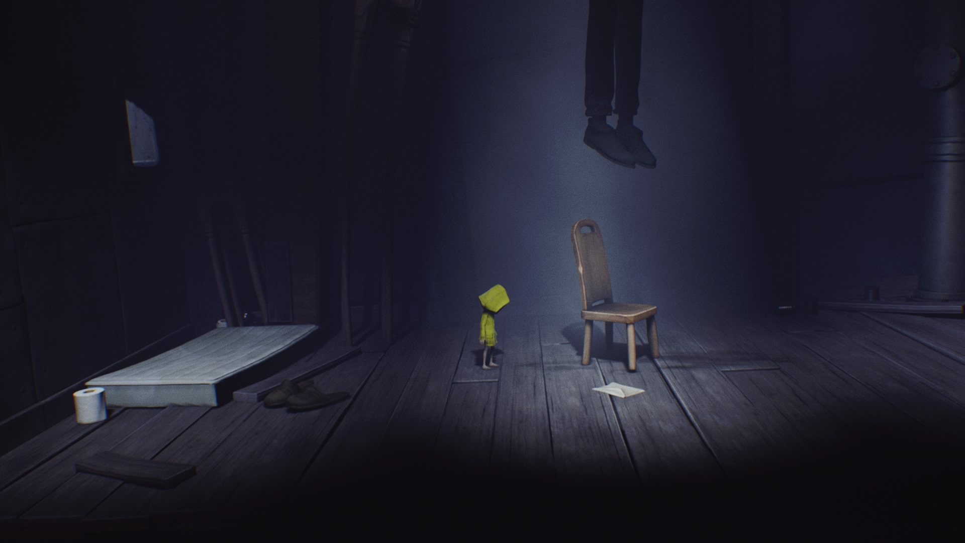 Little Nightmares hanging man