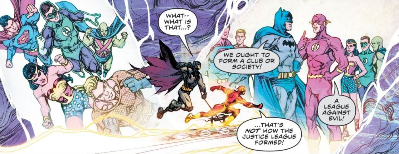 The different timelines of theDC Universe