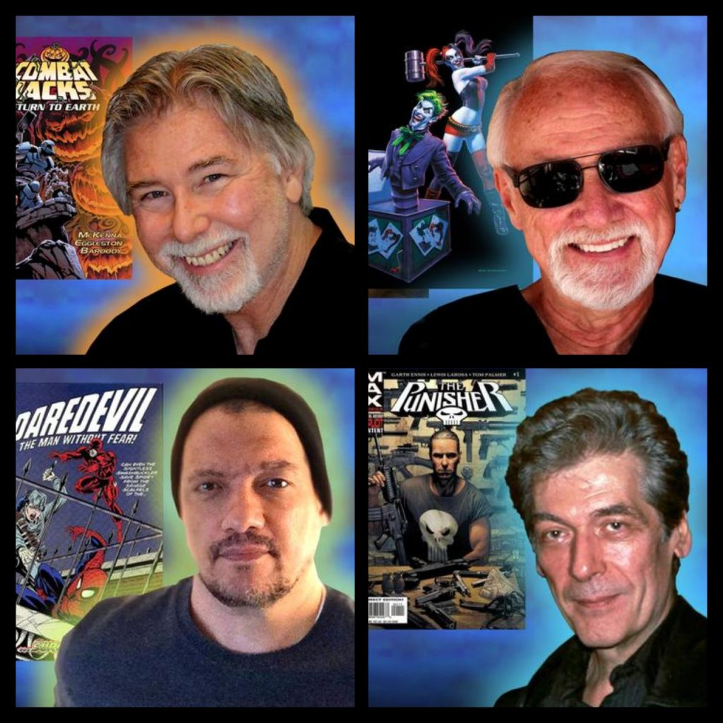 Garden State Comic Fest,Mark McKenna, Greg Hildebrandt, Chris Ivy, Tom Palmer