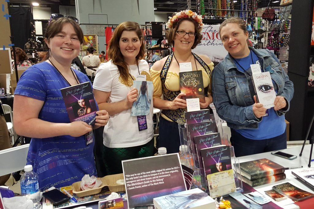 Awesome Con, Writers, Meg Eden,Tobie Easton, Kathy MacMillion, Beth Woodward