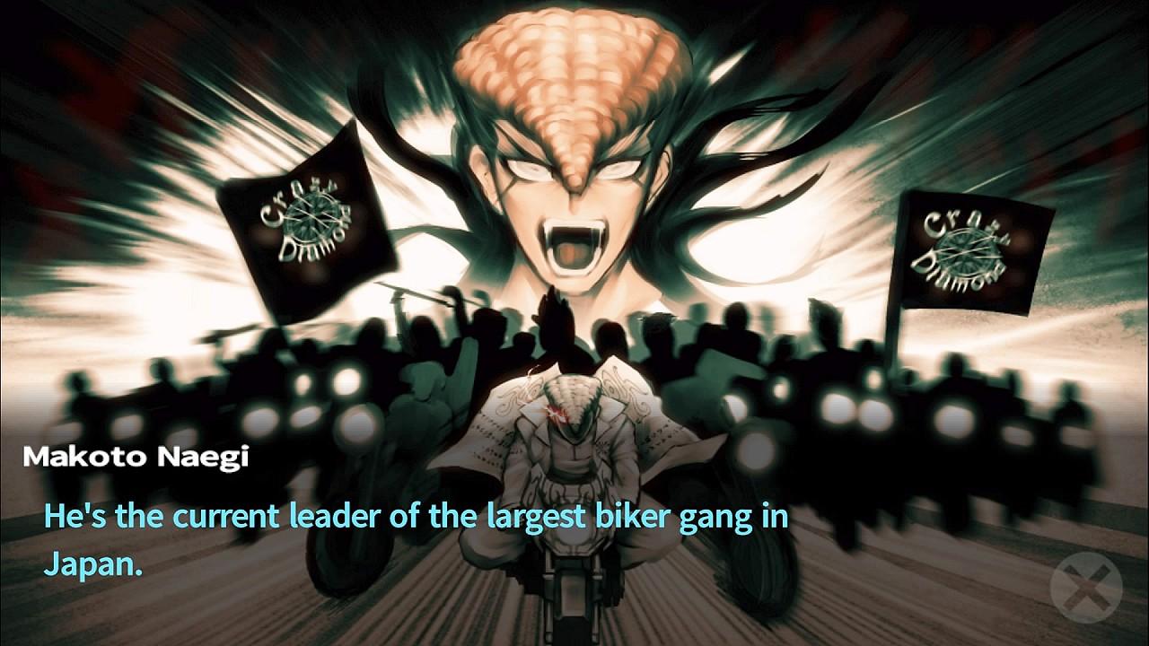 Danganronpa Ultimate bike gang leader