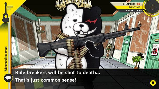 Danganronpa Monokuma gun
