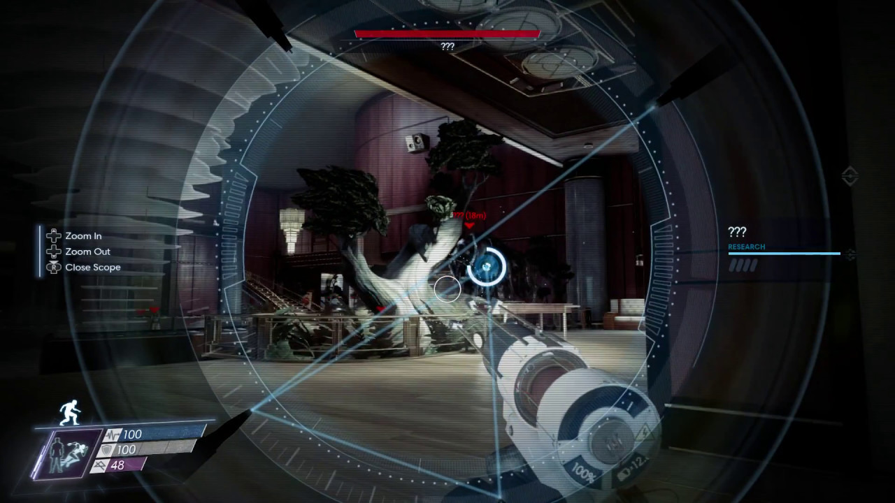 Prey scanning Typhon for upgrades