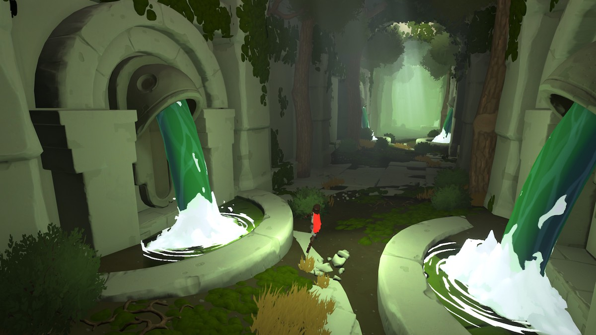 Rime forest ruins