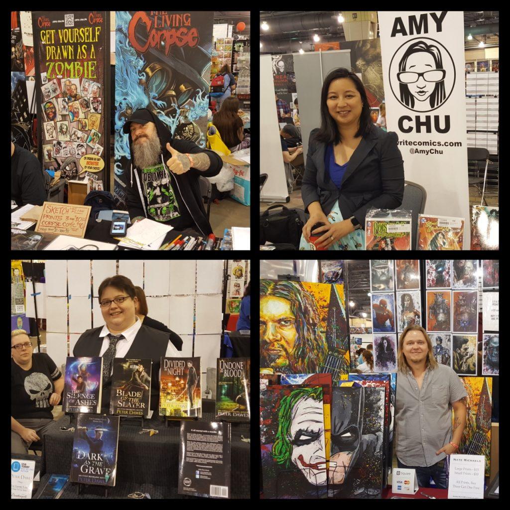 Wizard World Philadelphia, Buz Hasson, Amy Chu, Peter Dawes, Nate Michaels