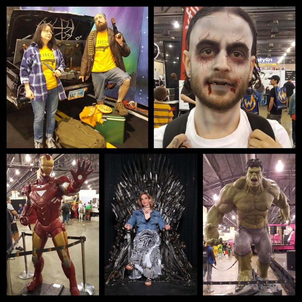Wizard World Philadelphia, Supernatural, Impala, Zombie, Hulk, Game of Thrones, Iron Man