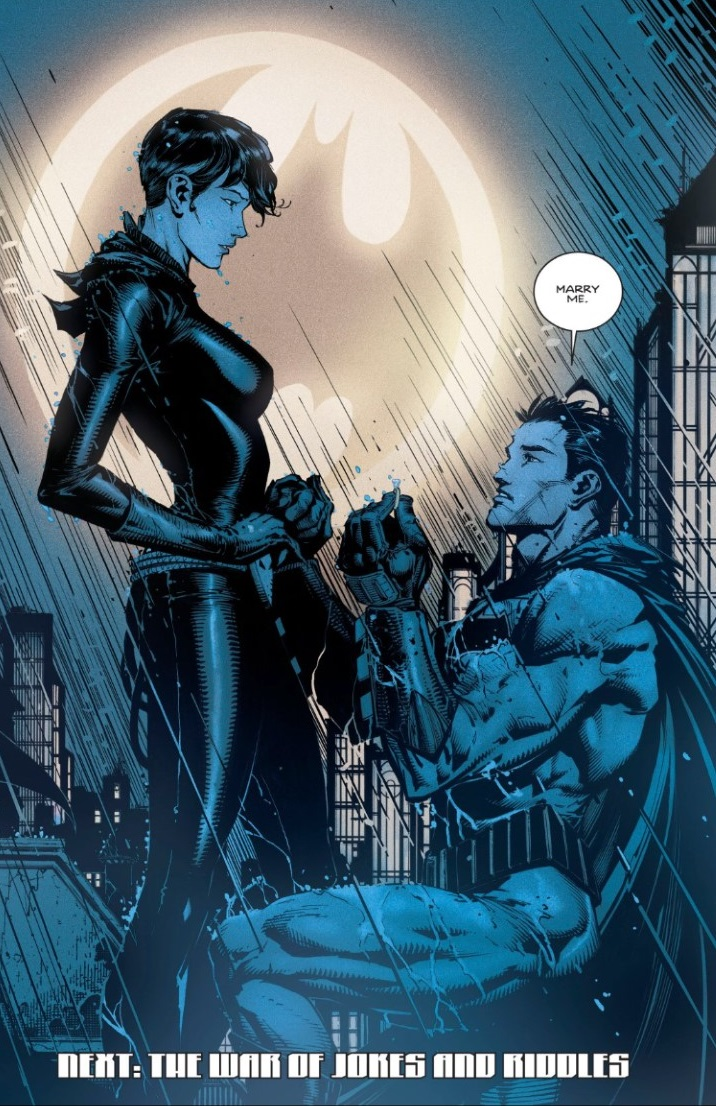Till death. Courtesy of DC Comics.