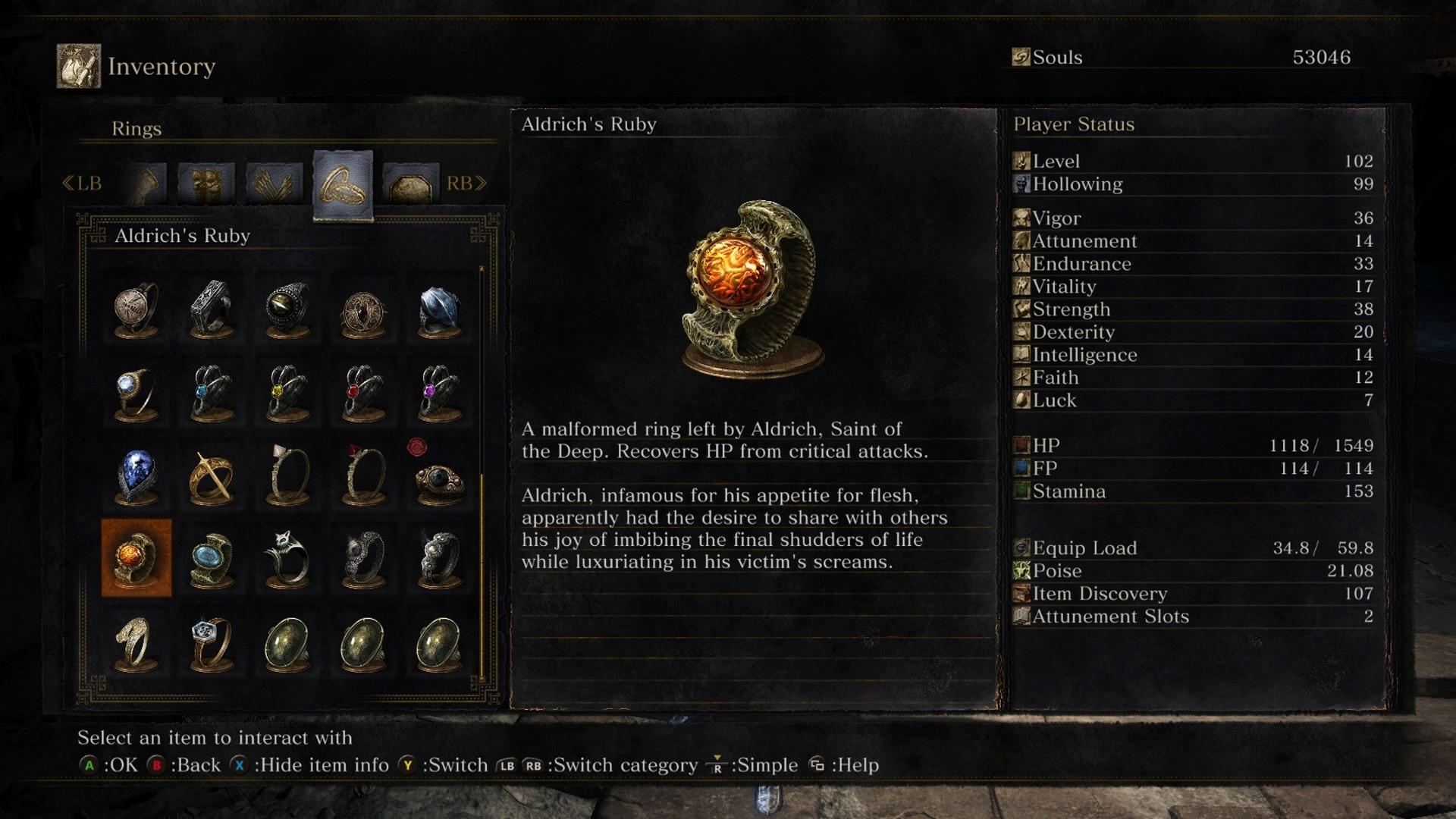 All Dark Souls  Rings