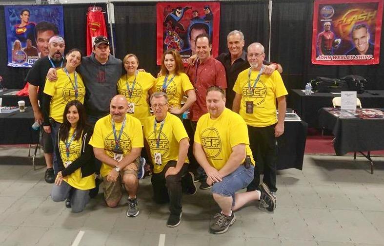 Garden State Comic Fest, The Flash, John Wesley Shipp, Superman, Dean Cain, Loren Lester