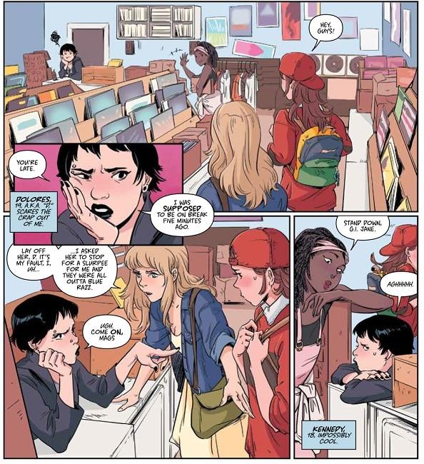 Adult club.com comic