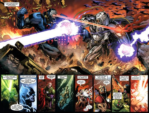 Divergence: Darkseidwar scene