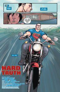 Superman-on-motorcyle