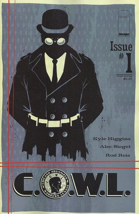Cover of Image Comics Issue #1 C.O.W.L