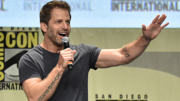 SAN DIEGO, CA - JULY 26:  Director Zack Snyder attends the Warner Bros. Pictures panel and presentation during Comic-Con International 2014 at San Diego Convention Center on July 26, 2014 in San Diego, California.  (Photo by Kevin Winter/Getty Images)