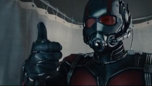 Ant-man thumbs up
