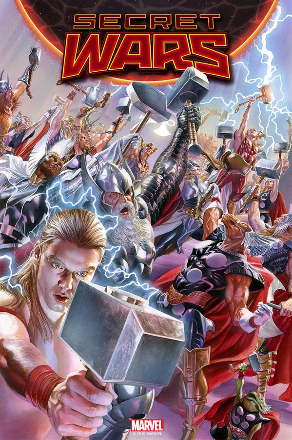 Secret Wars Issue 2 Cover