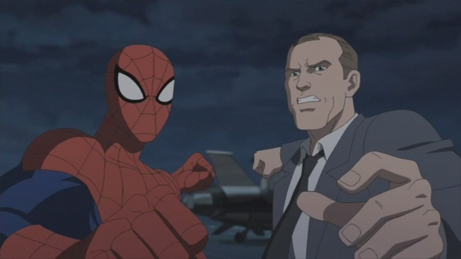 Coulson & Spider-Man