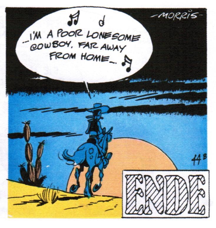 Lucky Luke, by Morris, Pilote Magazine