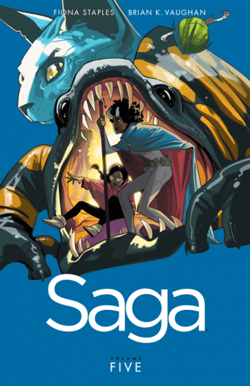cover of Saga: Volume 5