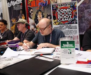 Ty Templeton Comicbook Bootcamp FanExpo Canada