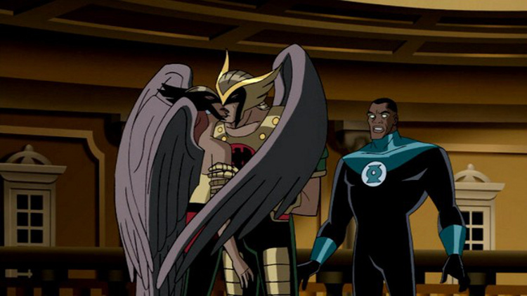 "from ""Justice League: Starcrossed"""