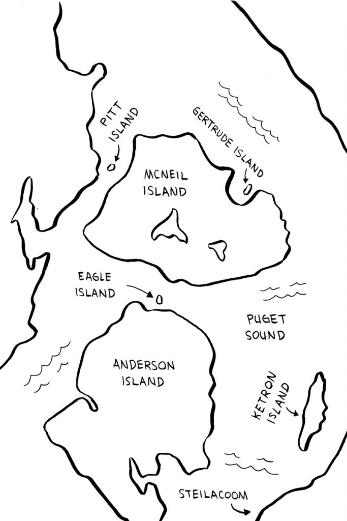 "Map from ""Prison Island"""