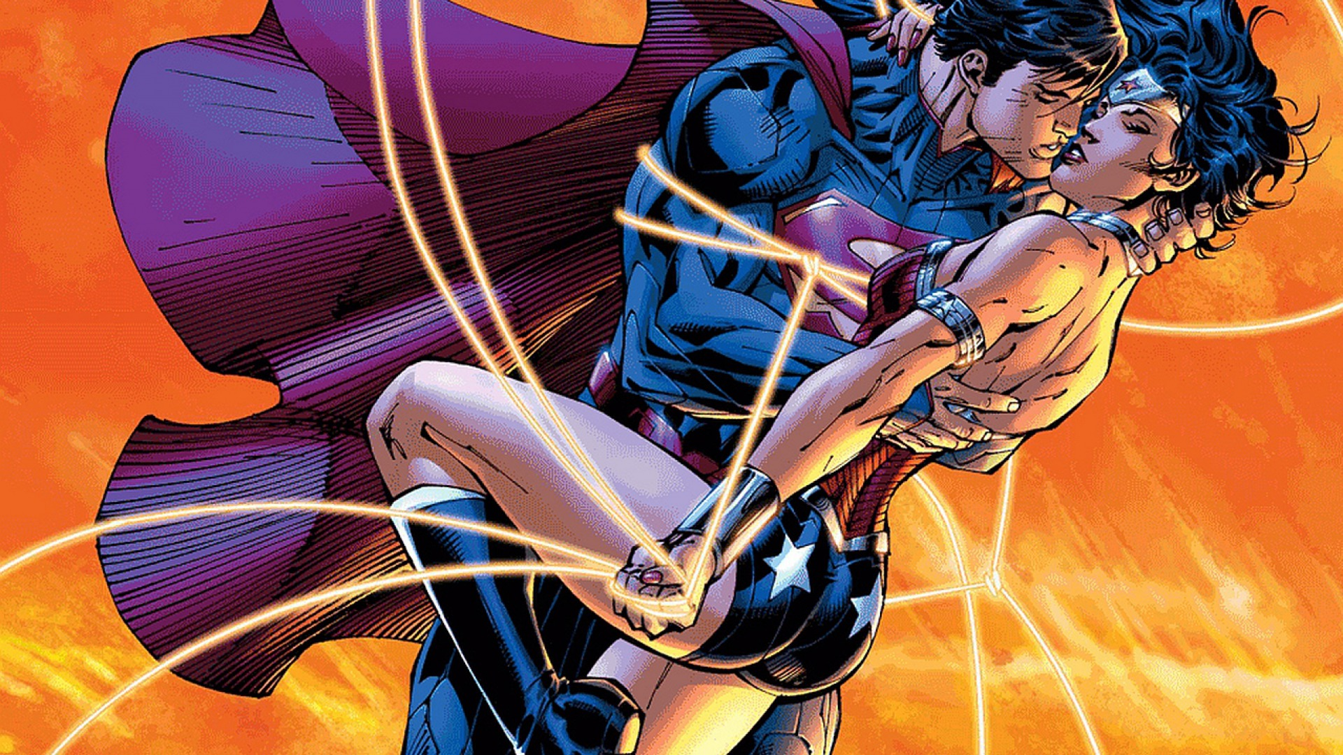 Superman a look at wonder woman and lois lane comiconverse - Superman wonder woman cartoon ...