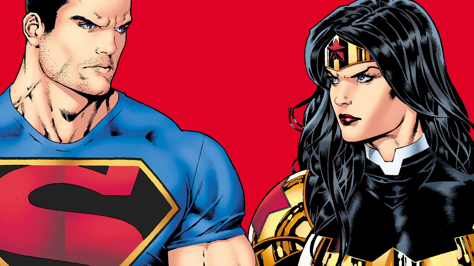 Superman A Look At Wonder Woman And Lois Lane - Comiconverse-6564