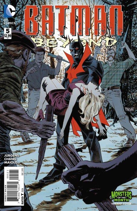 batman beyond 5 monster cover