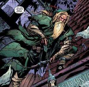 Oliver Queen, dead no more.