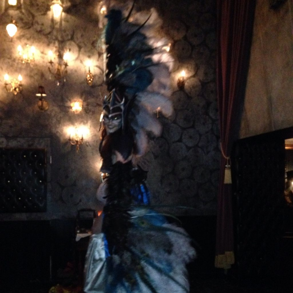 Edwardian Ball decor
