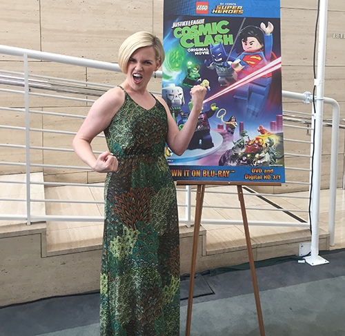 Kari Wahlgren at the LEGO DC Comics Super Heroes premiere