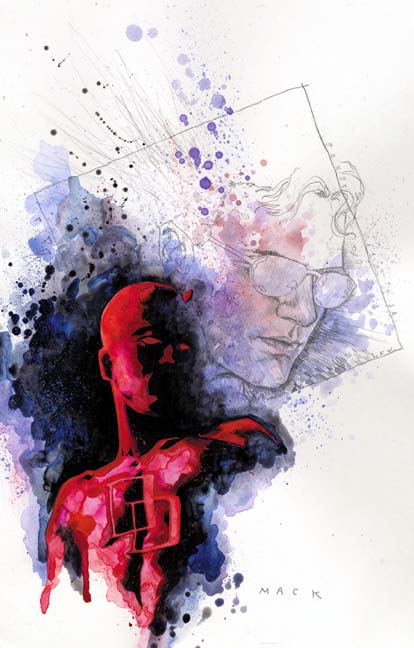 Daredevil Art by David Mack