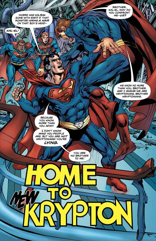 Superman: The Coming of the Supermen #3